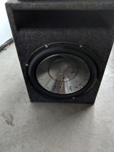 Sub, amplifier and wiring kit for sale!