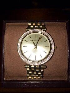 Gold Michael Kors Brand New Women's Watch