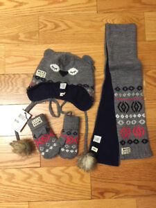 Tuque, foulard, mittens MEXX 12-24 mois fille