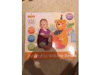 Inflatable wobble bear brand new