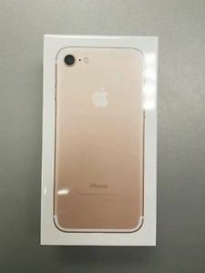 Unopened iPhone 7 32GB Telus