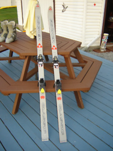 Down Hill Ski's and Boots