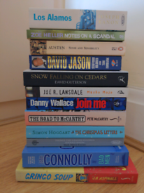 Collection of paperbacks