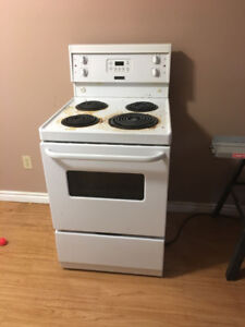 "24"" 4 element Electric Stove and Convection Oven"