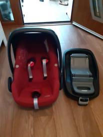 Maxi-Cosi Baby Car Seat with icerfix