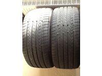 2 x 245/40/19 SA-07 Westlake tyres for sale