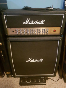 Guitar Amplifier and 4×12 slant cabinet