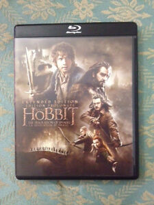 The Hobbit Extended Edition 3 Blu-Ray Disc New