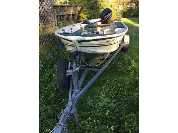 Used 2002 Alumacraft Boat Co lunker V16 DLX