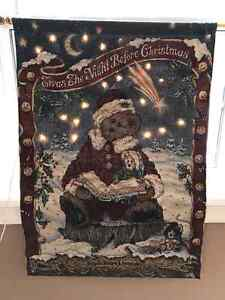 COLLECTIBLE BOYD'S BEARS CHRISTMAS WALL HANGING Belleville Belleville Area image 1