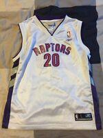Toronto Raptors Reebok Jersey - Kids Size Large