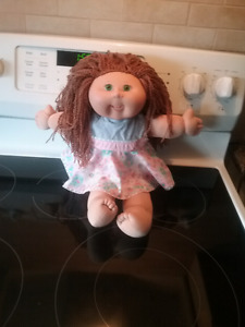 Cabbage patch doll who needs a new  Mom  plus baby   Bump