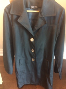 Cool Raoul Paris, Black Trench Coat- Made in France