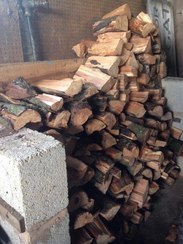 Seasoned fire wood for sale.