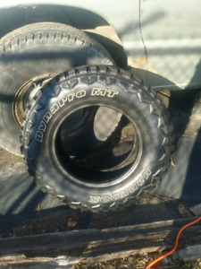 Winter rated mud tires