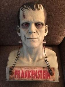 Frankenstein bust prototype