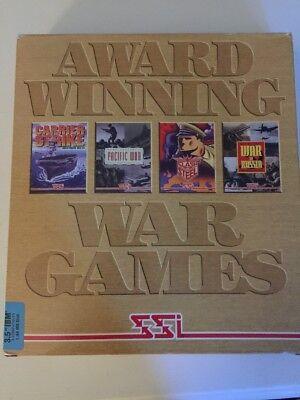 Vintage SSI Award Winning War Games PC Games Big Box 1994 IBM