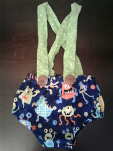 Boys 1st Birthday monster outfit