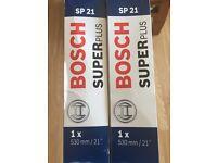 Bosch superplus 21' wipers