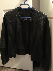 Women's Real Leather Jacket XS