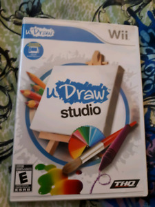 uDRAW STUDIO VIDEO GAME FOR WII FOR SALE