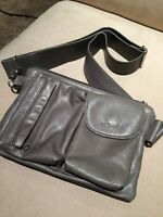 Rudsak Leather Waist Pouch Gray