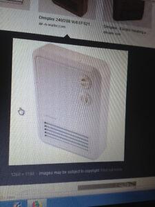 Heater..240 V wall mount