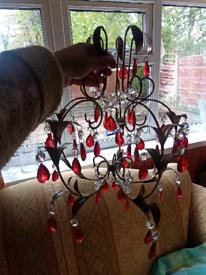 Chandelier lamp shade, like new!