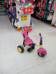 Trike for infant girls
