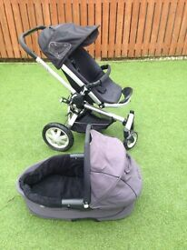 Quincy buggy and pram