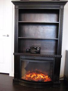 Foyer électrique bibliothèque