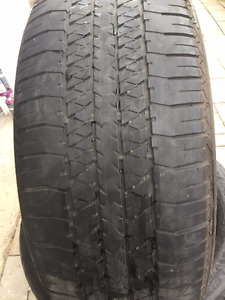 2 Summer Tires Bridgestone 275/50/22,