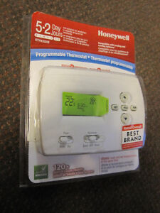 Honeywell RTH4300B 5-2-Day Programmable Thermostat - $39.00