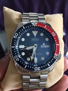 Seiko SKX009 Automatic Diver