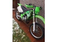 NEED GONE road legal KX125