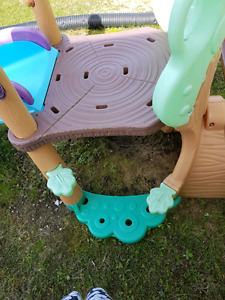 Slide and teeter totter
