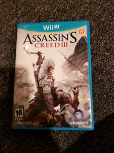WiiU Assassin's Creed III
