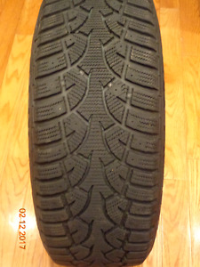 1 GENERAL ALTIMAX ARCTIC TIRE : 205/55R16 UP FOR SALE
