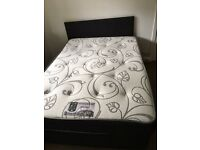 Divan Double Bed/Mattress/Headboard