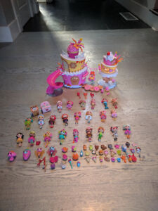 Lalaloopsy's with party house