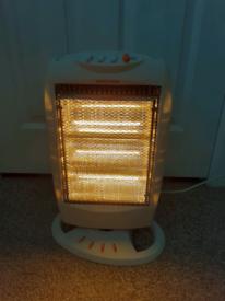 Oscillating Halogen Heater. New