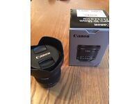 Canon efs 10-18mm f4-5.6 IS STM