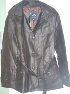Leather jacket-woman's