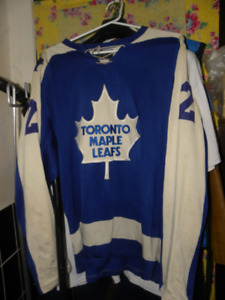 Rare Doug Laurie Sports Vintage Leafs Jersey