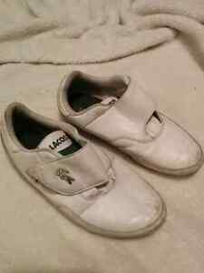 Lacoste boys shoes size 13.5