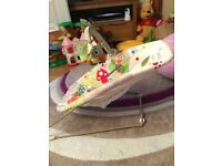Fisher Price Interactive bouncer seat