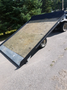 Snowmobile  or quad trailer for sale