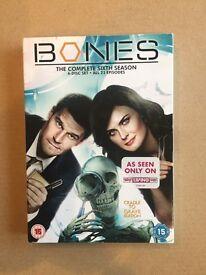 Bones Season Six DVD box set