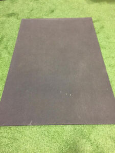 """84 Heavy Rubber Cushion Mats For Work Stations  etc 6' x4' x3/4"""""""