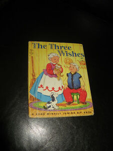 The Three Wishes A Rand McNally Elf Book - 1945